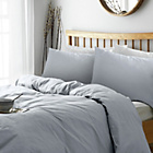 more details on Heart of House Soft Grey Non Iron Percale Bedding Set- King.