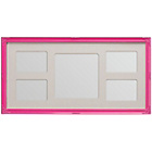 more details on Premier Housewares 5 Photo Frame - Pink.