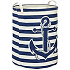 more details on Premier Housewares Anchor Laundry Bag - Navy.