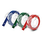more details on DYMO Embosser Tapes 9mm x 3m Assorted Colours - 3 Pack.