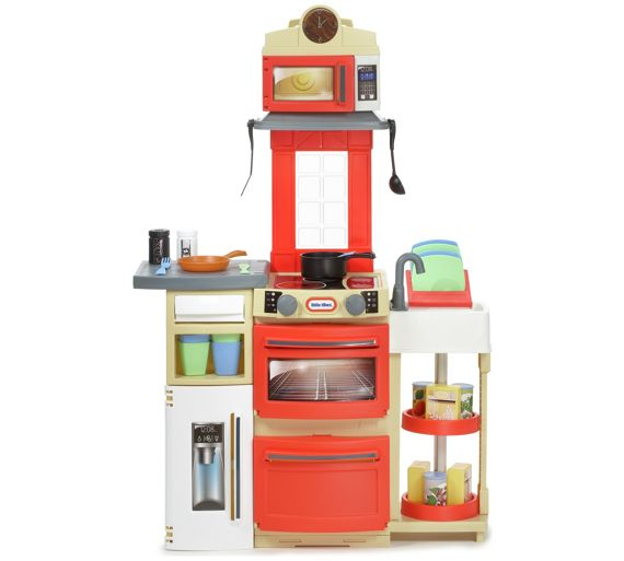 Buy Little Tikes Cook N Store Kitchen Red At Argos Co