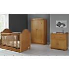more details on Obaby B is for Bear 3 Piece Double Set - Country Pine.