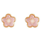 more details on 9ct Gold Pink Enamel Flower Studs.