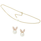 more details on Lipsy Faux Pearl Chocker and Earring Set.