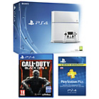 more details on PS4 500GB White Console, COD: Black Ops 3, 12 Month PSN.