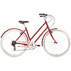 more details on Barracuda Delphinus 7 19 inch Adult's Vintage Bike - Red.