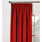 more details on ColourMatch Blackout Thermal Curtains -117x137cm -Poppy Red.