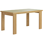 more details on HOME Wentworth 150cm Dining Table - Oak.