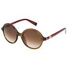 more details on Furla Shiny Translucent Brown & Brown Lens Sunglasses.