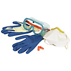 more details on Vitrex Respirator, Goggles, Gloves and Ear Plugs Safety Kit.