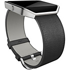more details on Fitbit Blaze Black Leather Band - Small