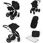 more details on Ickle Bubba Stomp V2 Black on Silver Travel System.