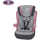 more details on Obaby B is for Bear 1-2-3 High Back Booster Car Seat - Pink.