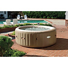 more details on Intex Pure Spa Bubble Therapy 6 Person Round Hot Tub.