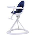 more details on Ickle Bubba Blue on White Highchair.