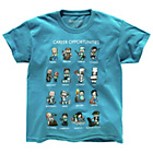 more details on Minecraft Blue Career T‑Shirt.