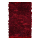 more details on Silky Shaggy Deep Pile Rug - Red.