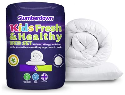 Buy Slumberdown Fresh And Healthy 4 Tog Cotbed Set At