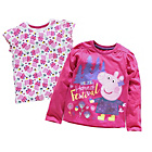 more details on Peppa Pig 2 Pack of T‑Shirts.
