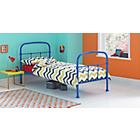 more details on Allex Metal Bed with Bibby Mattress - Marina Blue
