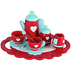 more details on Chad Valley Wooden Tea Set - Red.