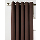 ColourMatch Blackout Thermal Curtains -229x229cm -Chocolate