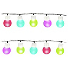 more details on Gardenkraft 50 Multi Coloured LED String Lights.