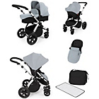 more details on Ickle Bubba Stomp V2 Silver on Silver Travel System.