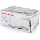 more details on Morphy Richards Accents Roll Top Bread Bin - White.