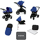 more details on Ickle Bubba V3 with Isofix Base Travel System - Blue/Black.