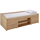 more details on Yanniek Cabin Bed with Bibby Mattress - Oak