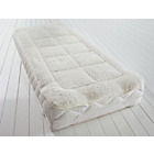 more details on Downland Faux Lambswool Mattress Topper - Single.
