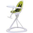more details on Ickle Bubba Orb Green on White Highchair.