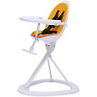 more details on Ickle Bubba Orb Yellow on White Highchair.