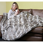 more details on Relaxwell by Dreamland Intelliheat Husky Faux Fur Throw.