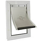 more details on Staywell Aluminium Pet Door Small - White.
