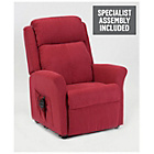 more details on Memphis Riser Recliner Chair with Dual Motor - Berry.