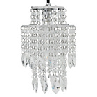 more details on Heart of House Naples 2 Tier Glass Pendant Shade.