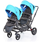 more details on ABC Design Zoom Tandem Pushchair - Water.