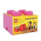 more details on LEGO® Storage Brick 4 - Pink.
