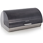 more details on Morphy Richards Accents Roll Top Bread Bin - Black.