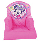 more details on Minnie Mouse Fabric Cosy Chair - Pink.