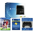 more details on PS4 500GB Console, FIFA 16, 12 Month PSN, DualShock 4.