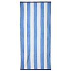 more details on Striped Beach Towel - Blue and White.