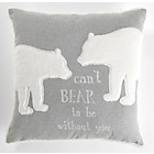 more details on Heart of House Grey Bears Cushion.