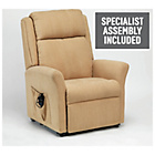 more details on Memphis Riser Recliner Chair with Dual Motor - Biscuit.