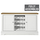 more details on Heart of House Westbury Sideboard with Wine Rack - White.