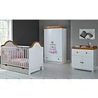 more details on Obaby B is for Bear 3 Piece Double Set - White Pine.