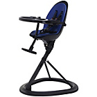 more details on Ickle Bubba Orb Blue on Black Highchair.
