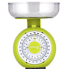 more details on ColourMatch Mechanical Kitchen Scales - Apple Green.